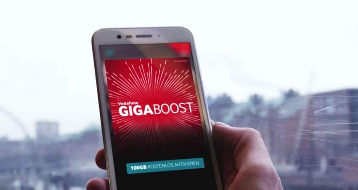 Bild von Vodafone GigaBoost: 100 GB kostenloses Datenvolumen