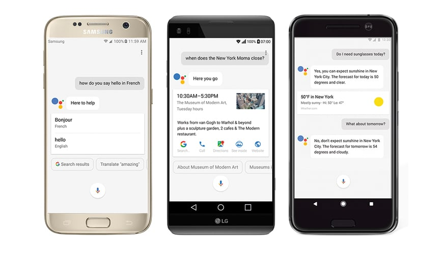 Photo of Google Assistant startet auf Android durch