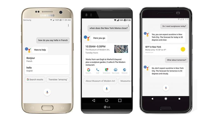 Photo of Google Assistant startet auf Android durch