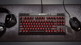 K63 Environmental 01 320x180 - Corsair K63: Günstige & mobile mechanische Gaming-Tastatur