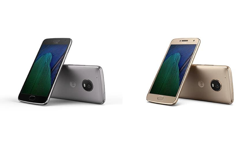 Bild von Moto G5 und G5 Plus auf dem MWC in Barcelona vorgestellt