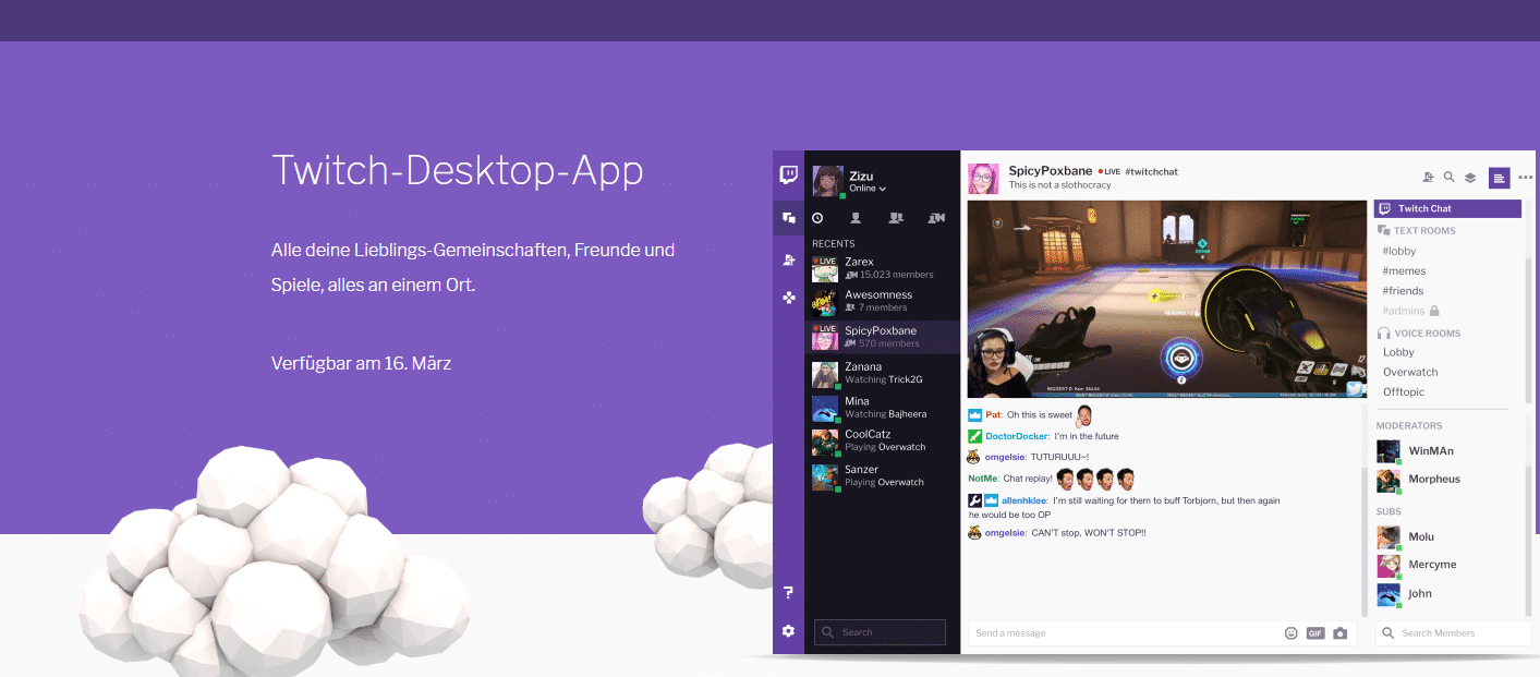Photo of Twitch-Desktop-App Beta: Konkurrenz für Teamspeak & Discord