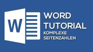 Word Seitenzahlen 320x180 - Komplexe Seitenzahlen für wissenschaftliche Arbeiten