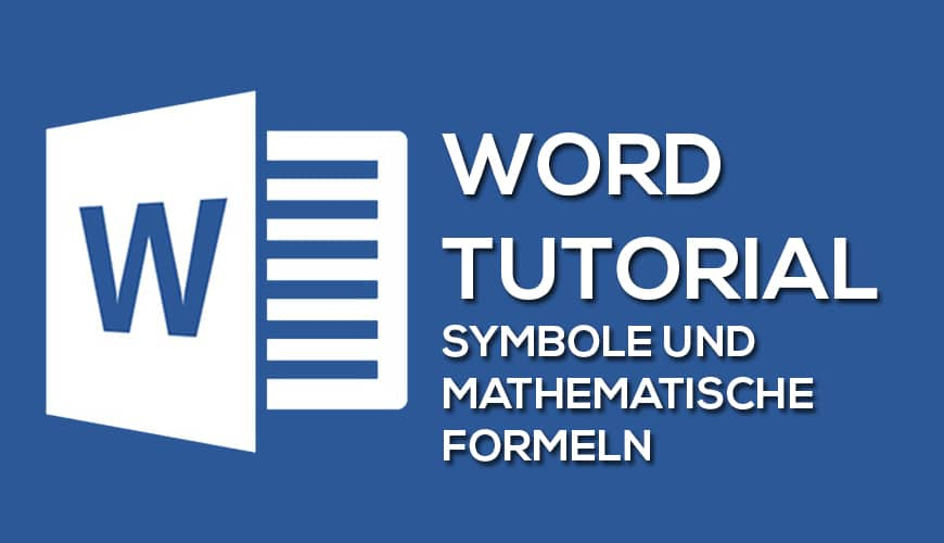 Photo of Symbole und mathematische Formeln mit Word