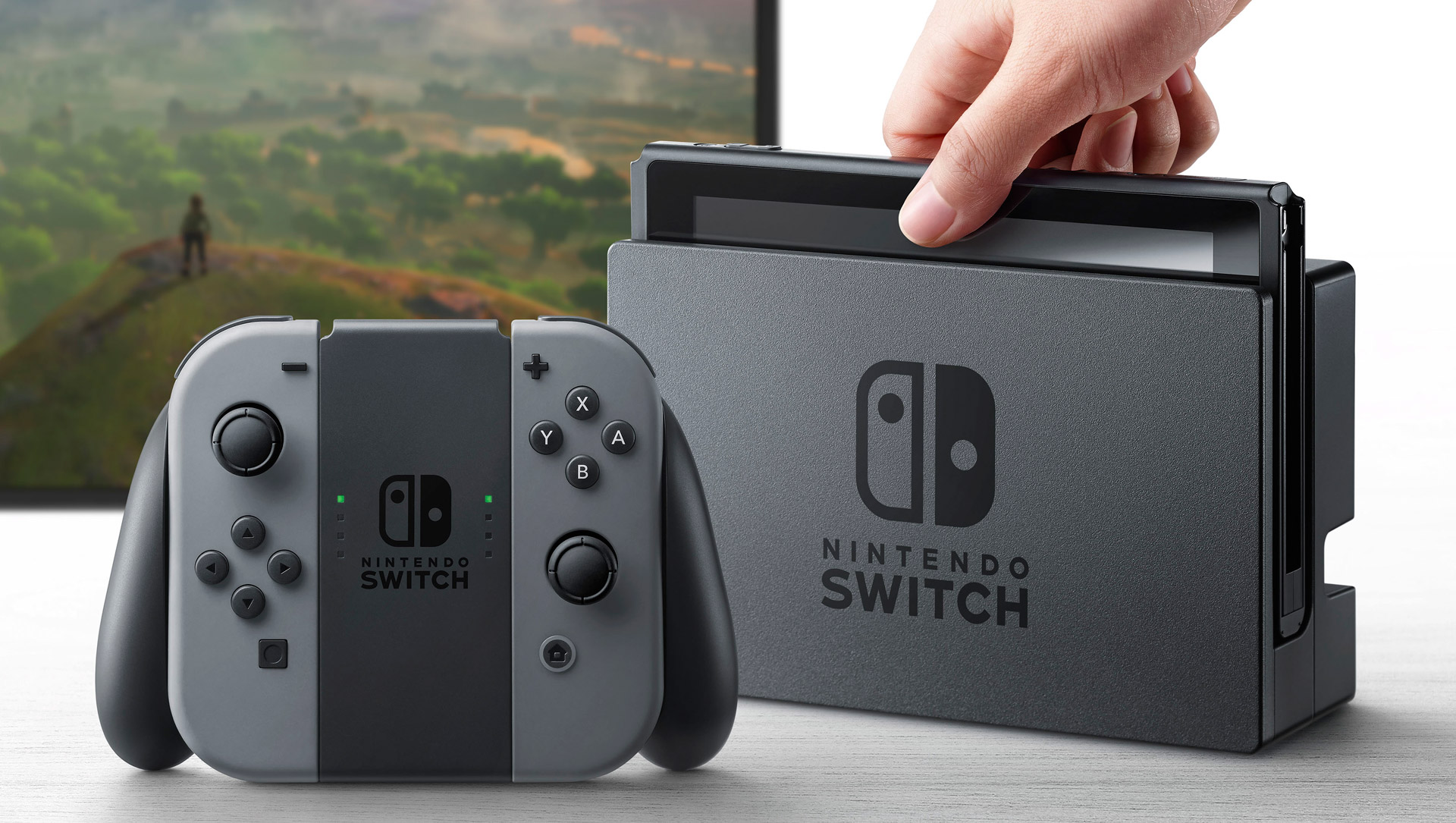 Photo of Erste Nintendo Switch Konsole mit Bluescreen