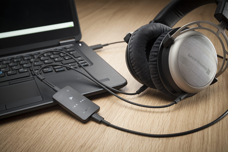 Bild von Impacto essential – der neue Digital-Analog-Konverter im Kopfhörerkabel