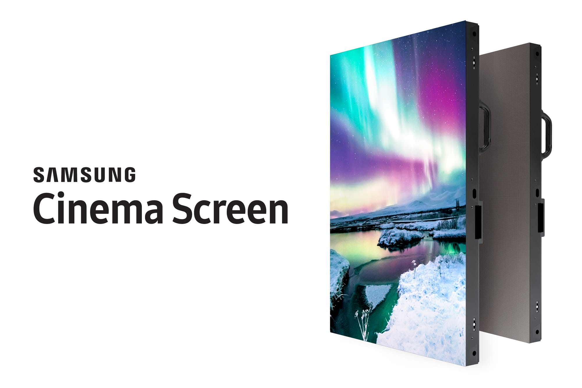 Photo of Samsung Cinema Screen: 455-Zoll-Display ersetzt den Beamer