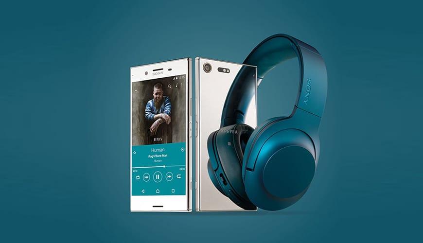 Bild von Gratis-Kopfhörer im Wert von 300 Euro für Vorbesteller des Sony Xperia XZ Premium