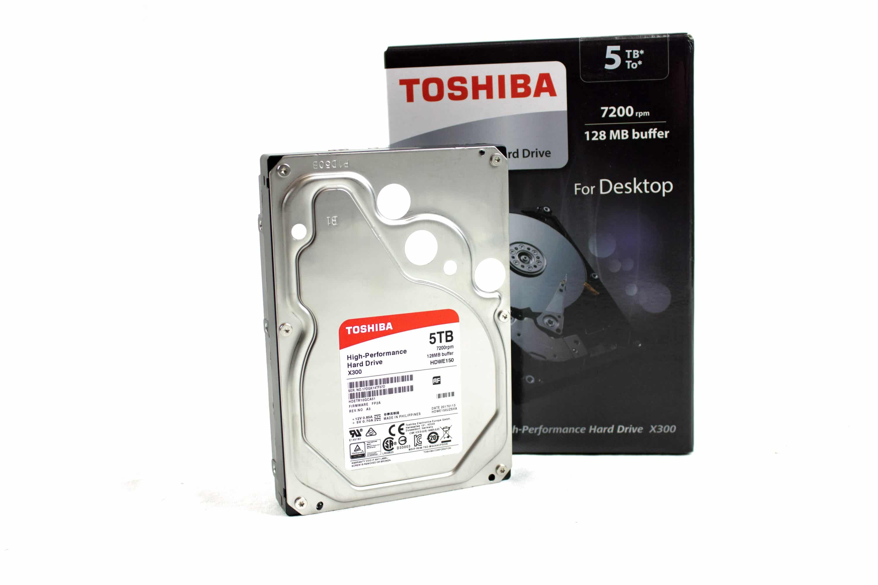 Photo of Toshiba X300 5 TB Internal SATA Hard Drive in Review
