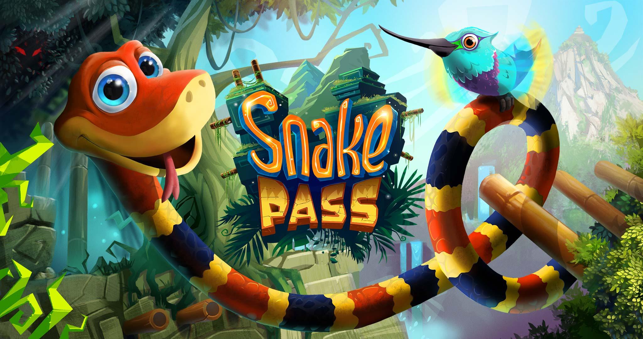 """Bild von """"Snake Pass"""" im Test – Hüpfen war gestern, heute wird geschlängelt"""