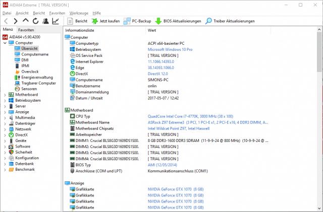 AIDA64 Extreme 640x421 - Langsamer PC durch zu wenig Arbeitsspeicher? So einfach rüstest du deinen RAM auf!