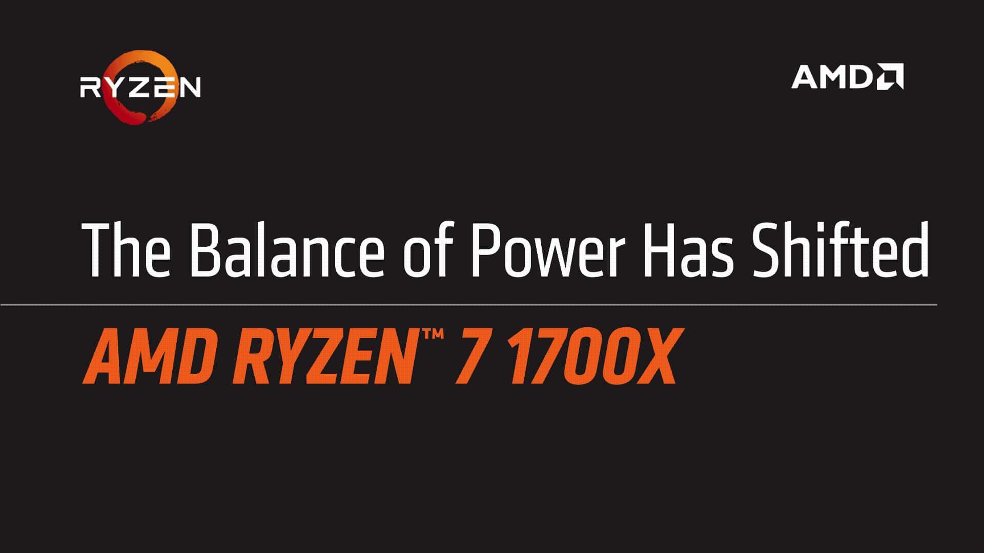 Photo of AMD vergleicht Ryzen 7 1700X mit Intel i7-7700K