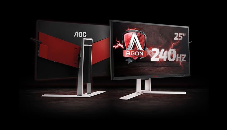 Bild von AOC bringt den Premium-Monitor AG251FG mit 240 Hz mit zur gamescom