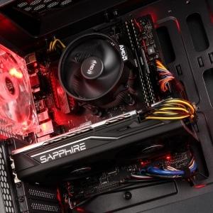 AMDs Radeon RX 580 im Basic Tutorials Gaming PC