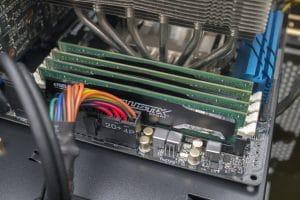 Fertig ist die RAM-Aufrüstung