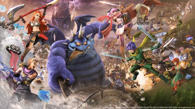 """DQH2 MainKeyArt 1080 1481125615 640x360 - """"Dragon Quest Heroes 2"""" im Test – Die niedliche Monster-Klopperei geht in die nächste Runde"""