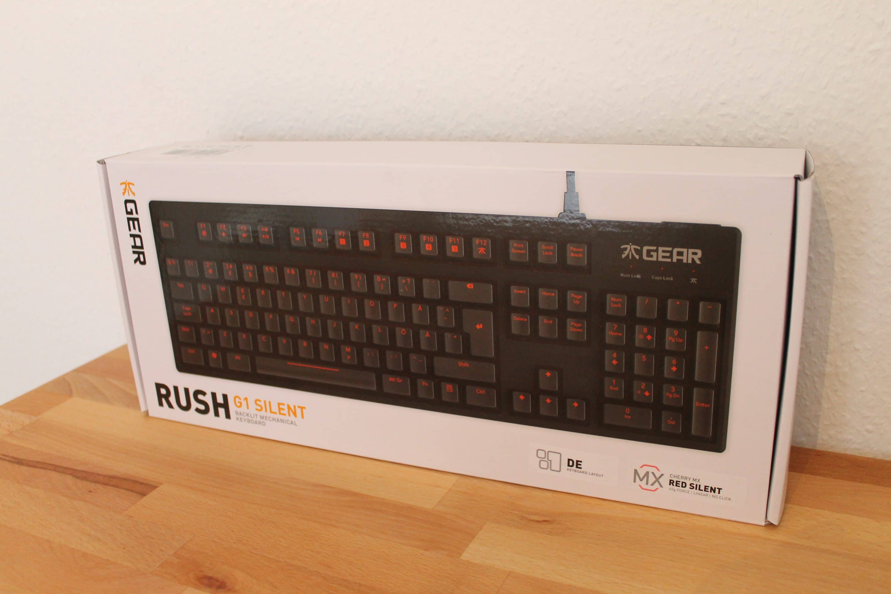 Photo of Fnatic Gear Rush G1 Silent: Leise Gaming-Tastatur im Test