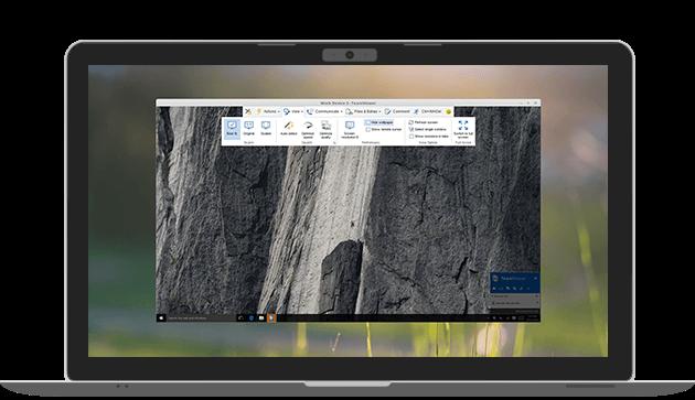 Bild von Linux kann ab sofort auch mit TeamViewer ferngesteuert werden