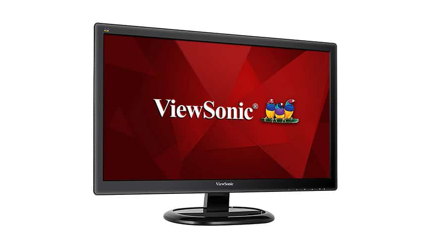 viewsonic va2465sh 24 zoll monitor f r unter 100 euro im. Black Bedroom Furniture Sets. Home Design Ideas