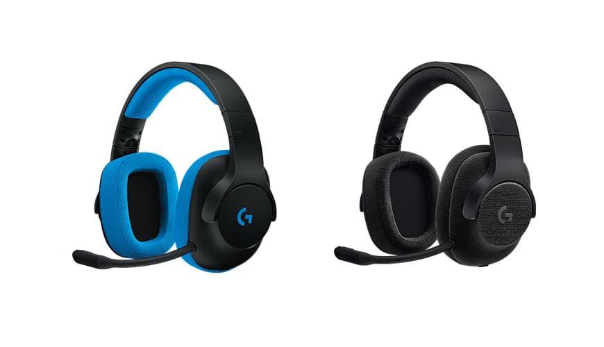 Bild von Logitech G433 und G233 – Die neuen Gaming-Headsets