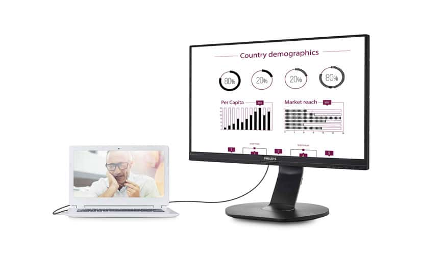 Photo of Philips 241B7QUPEB: Ein neuer USB-Docking-Monitor betritt den Markt