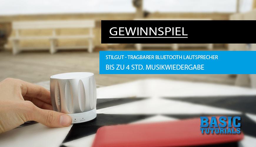 Photo of Der StilGut Bluetooth-Lautsprecher – Die stylische Büchse im Gewinnspiel