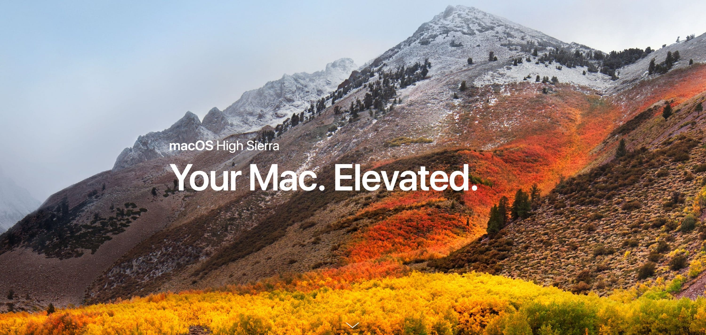 Photo of Apple bringt macOS High Sierra mit VR-Unterstützung