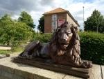 Löwenstatue (ohne HDR) BQ Aquaris X