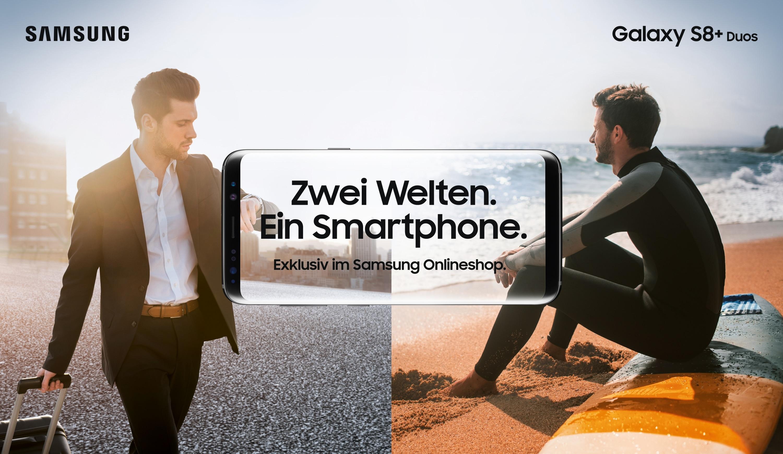 Photo of Das Samsung Galaxy S8+ DUOS betritt den Markt