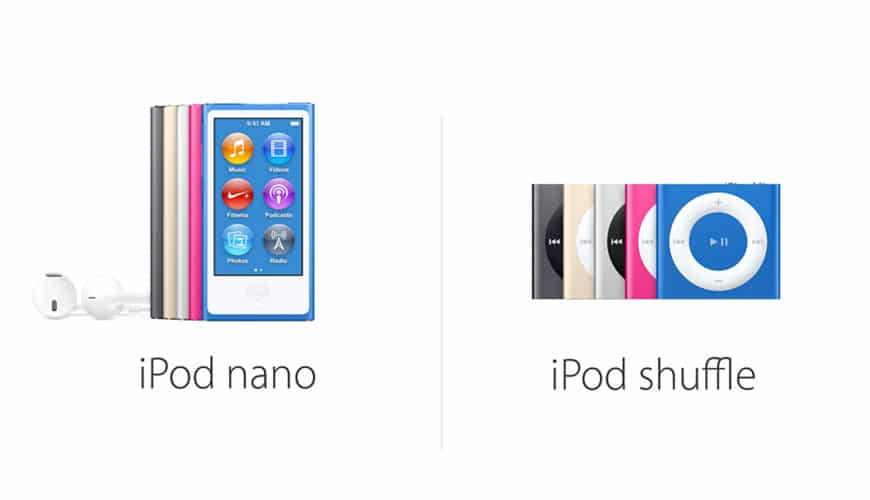 Photo of Apple stellt iPod Nano und iPod Shuffle ein