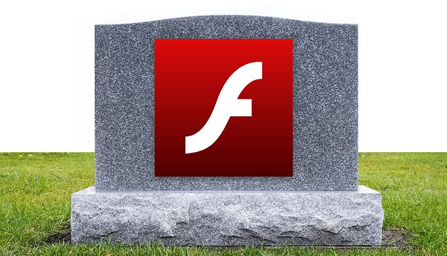 Bild von Adobe Flash wird endlich begraben