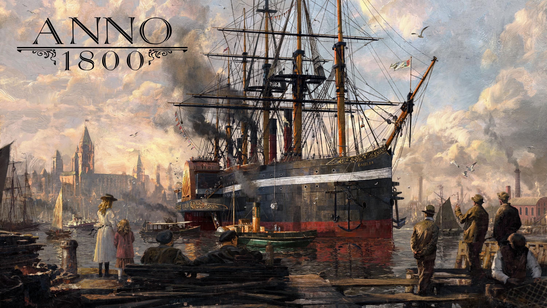 Bild von Ubisoft zeigt Anno 1800 auf der gamescom