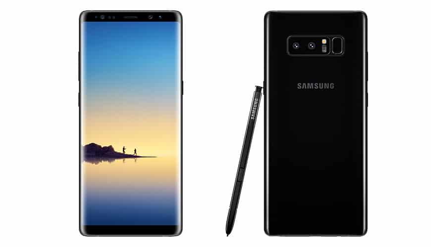 Bild von Das Samsung Galaxy Note8 knabbert an der 1000 Euro-Marke