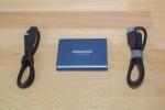 Samsung Portable SSD T5 mit Zubehör