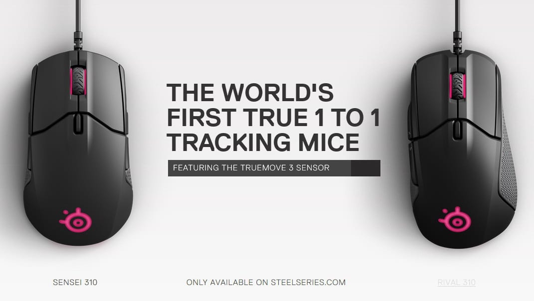 Photo of SteelSeries präsentiert neue Gaming-Mäuse: Sensei 310 & Rival 310