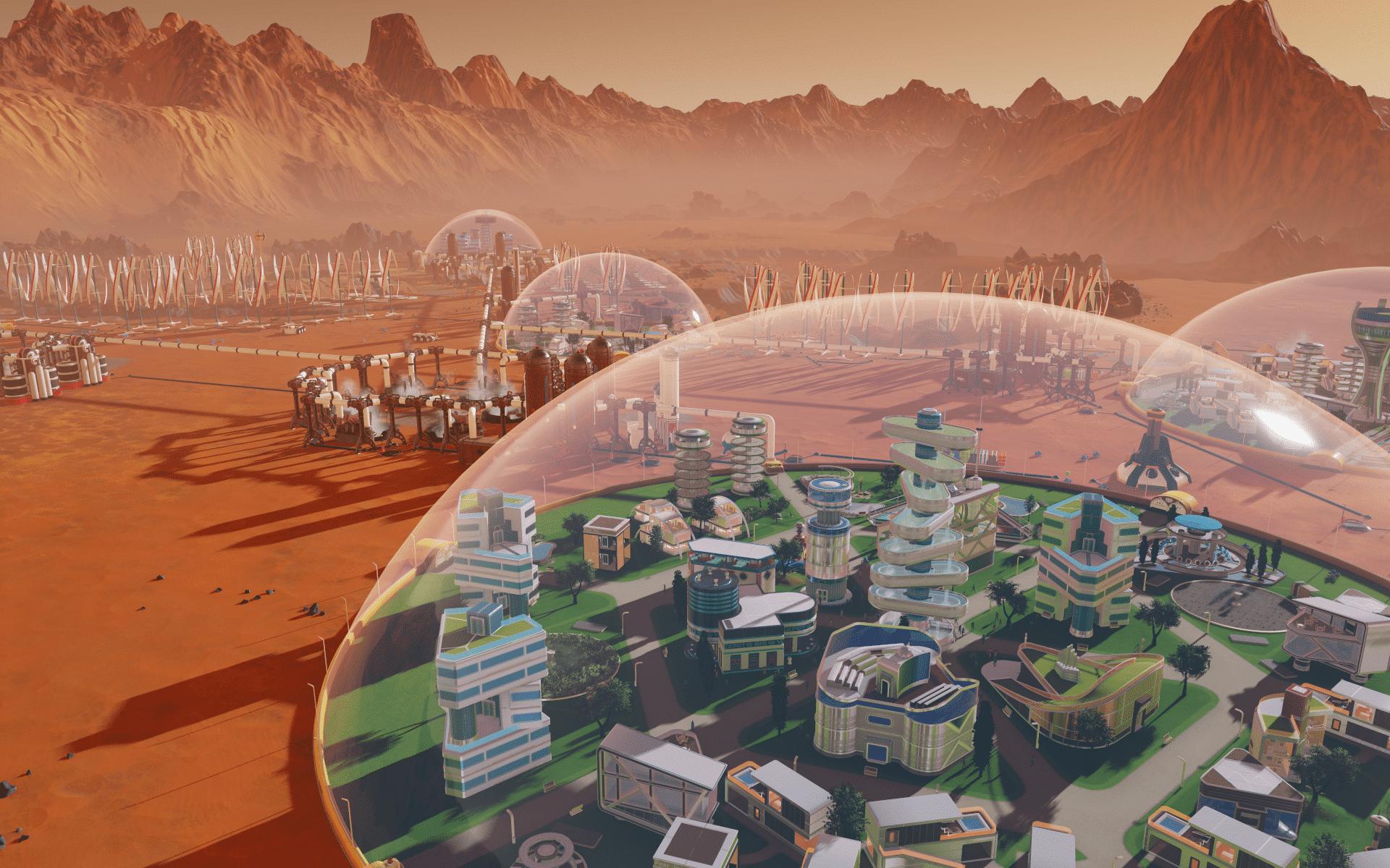 Bild von gamescom 2017: Surviving Mars – eigene Kolonie auf dem Mars
