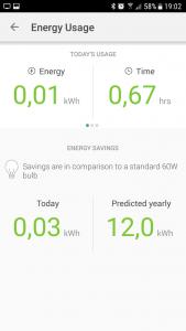 Energieverbrauchsübersicht