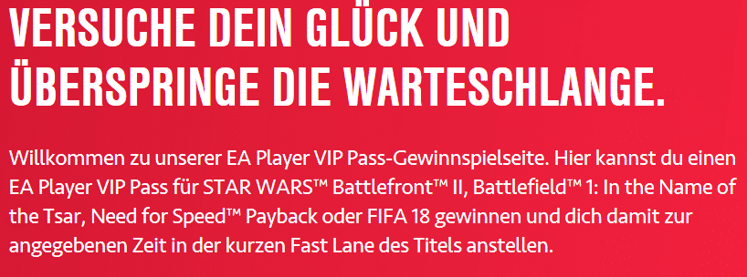 Photo of gamescom 2017: EA verlost VIP Pässe für Fast Lanes