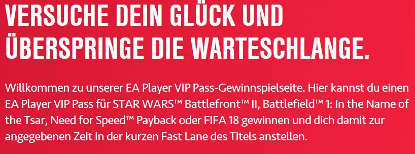 Photo of gamescom 2017: EA verlost VIP Pässe für Fast Lanes