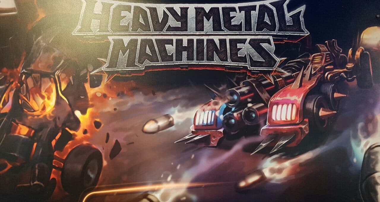 Photo of Heavy Metal Machines auf der gamescom 2017