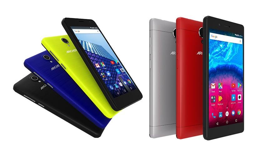 Bild von Neue Einsteiger-Smartphones von ARCHOS auf der IFA 2017