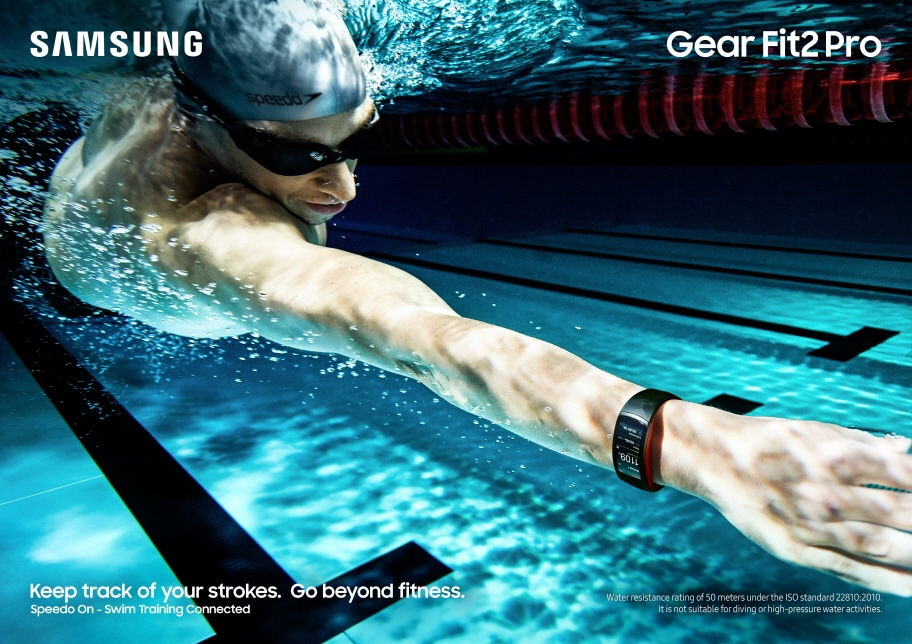 Photo of Samsung Gear Fit 2 Pro: Fitness-Tracker für Schwimmer