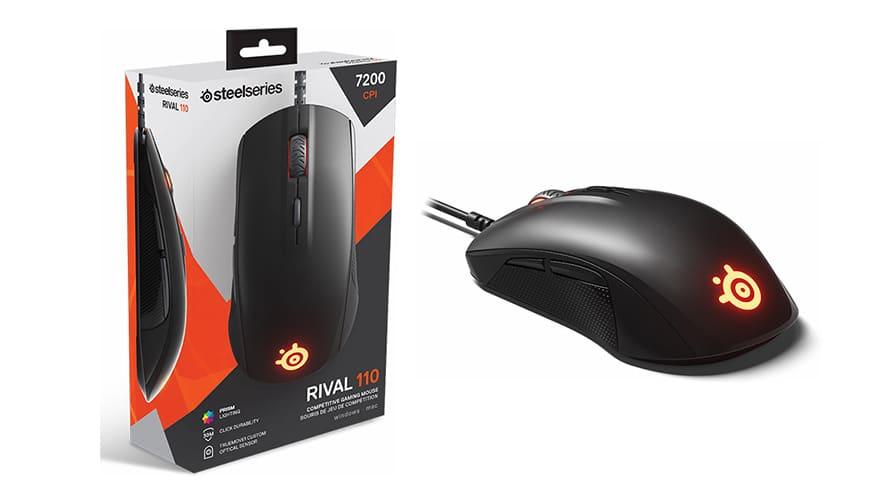 Bild von SteelSeries Rival 110: Eine neue Gaming-Maus für Einsteiger