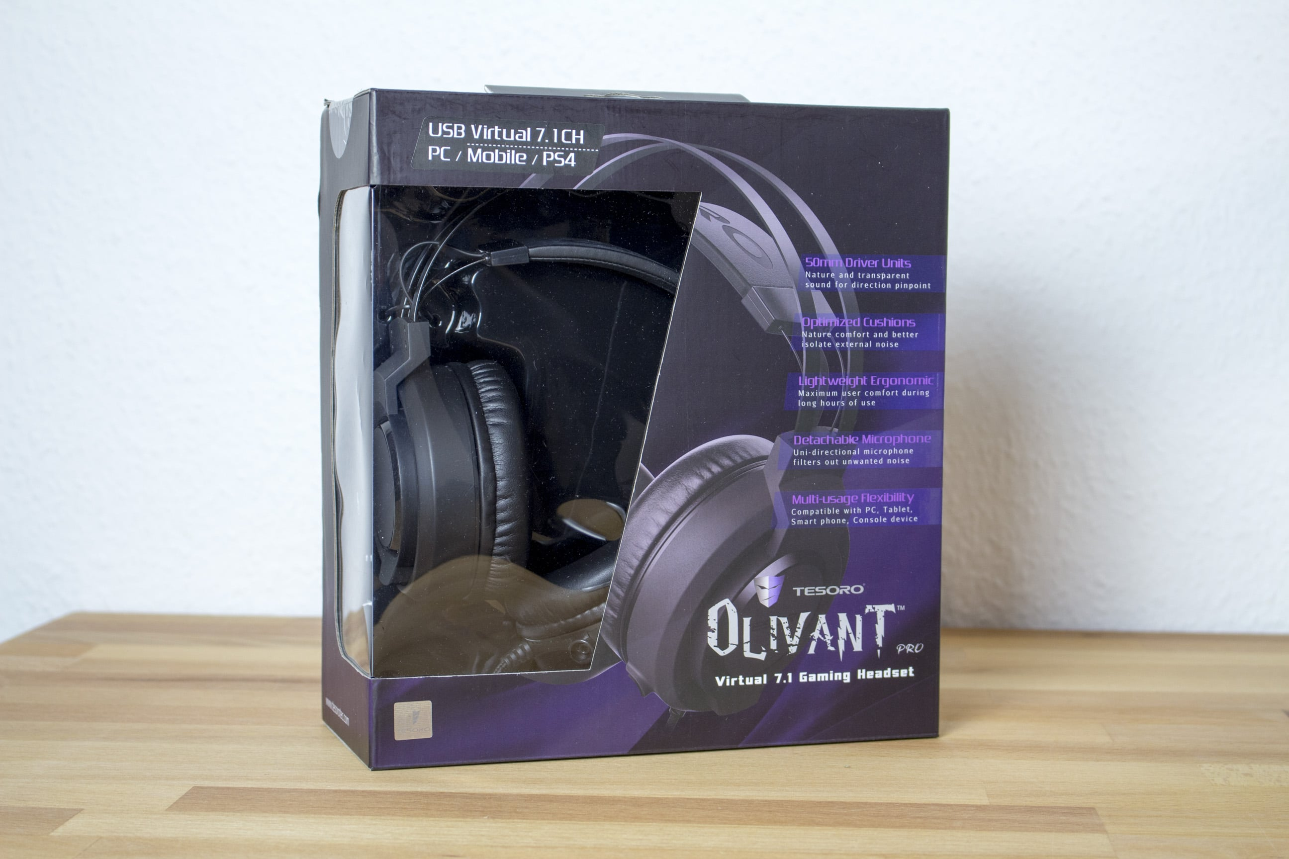 Photo of Tesoro Olivant Pro im Test: 7.1-Surround-Headset für nur 50 Euro