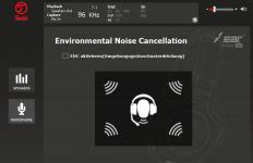 Teufel Audio Center: Environmental Noise Cancellation