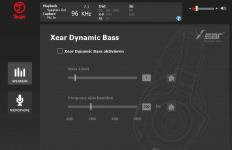 Teufel Audio Center: Xear Dynamic Bass