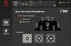 Teufel Audio Center: Xear Surround Headphone