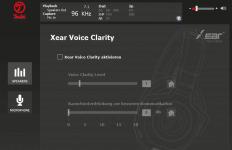 Teufel Audio Center: Xear Voice Clarity