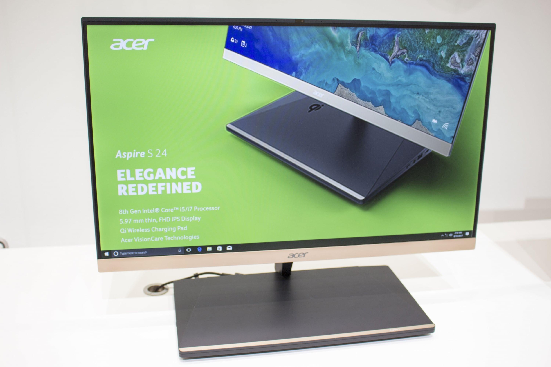 Bild von Acer Aspire S24 – ultraflacher All-in-One-PC