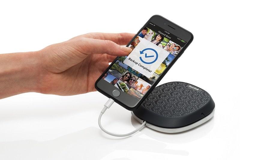 Bild von SanDisk iXpand Base vorgestellt: iPhone-Backup vollautomatisch